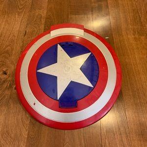 Captain America Foam Disk Shooting Shield
